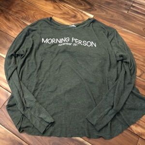 "Wildfox ""morning person"" tee"